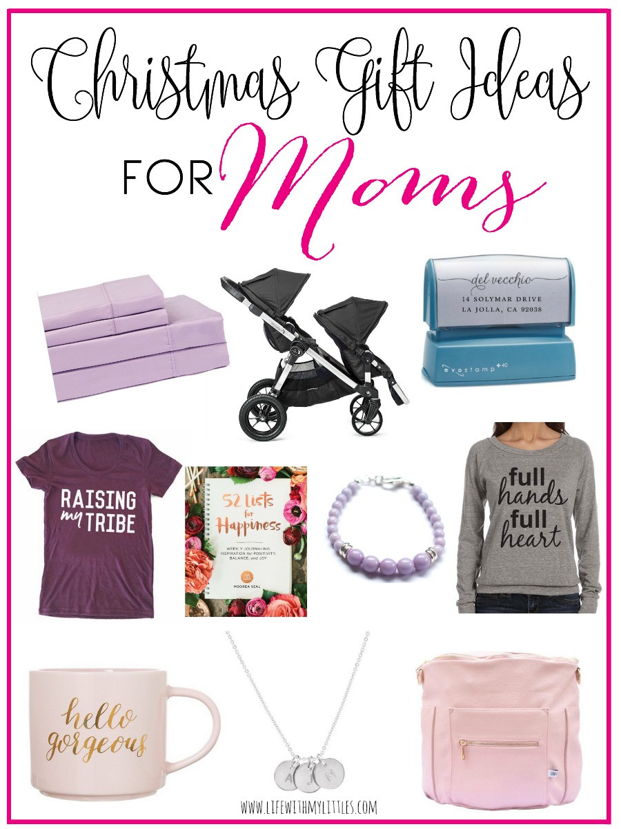 Gift Ideas For Mom For Christmas  Christmas Gift Ideas for Moms Life With My Littles
