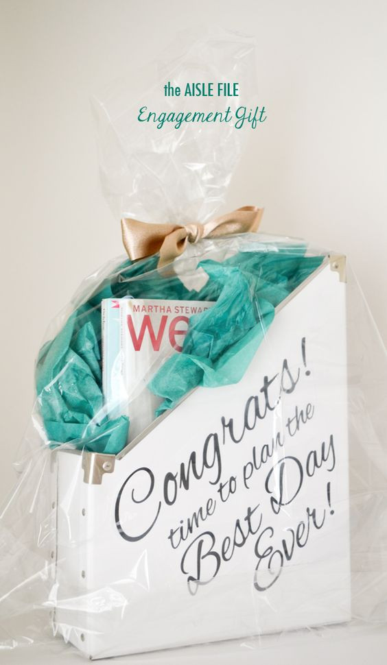 Gift Ideas For Newly Engaged Couple  Engagement Gift Kit