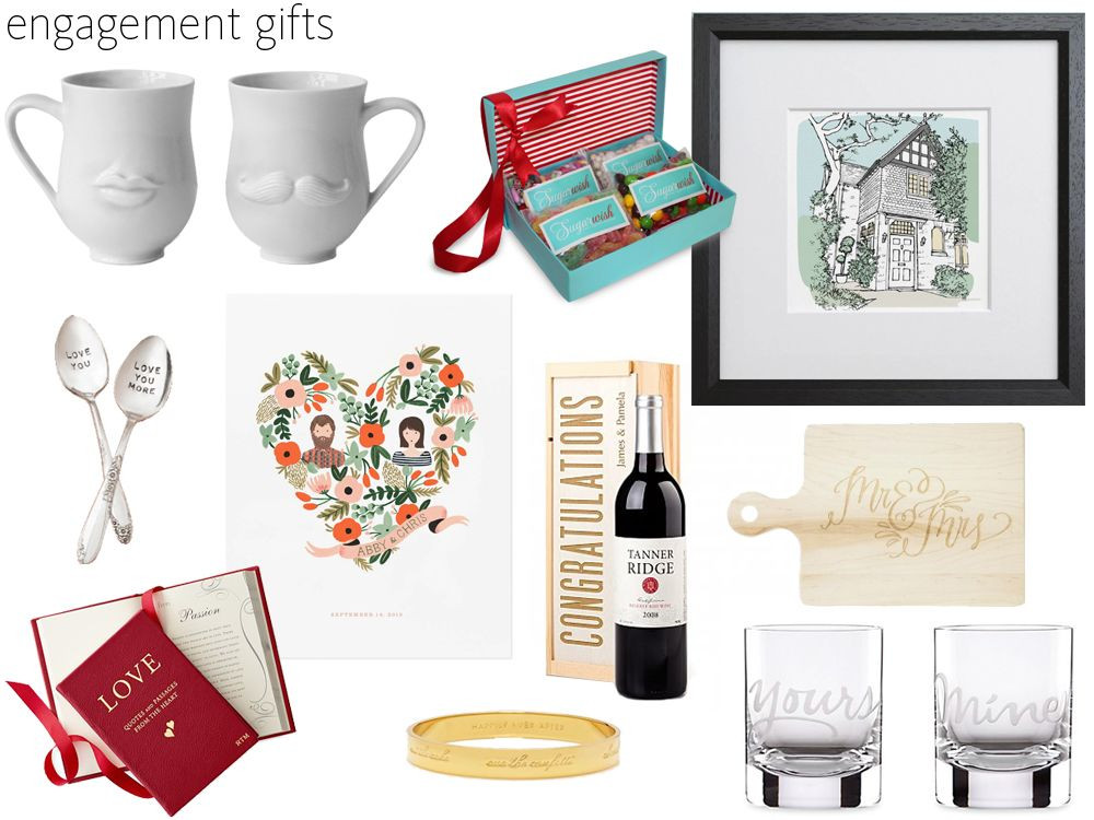 Gift Ideas For Newly Engaged Couple  57 Engagement Gift Ideas