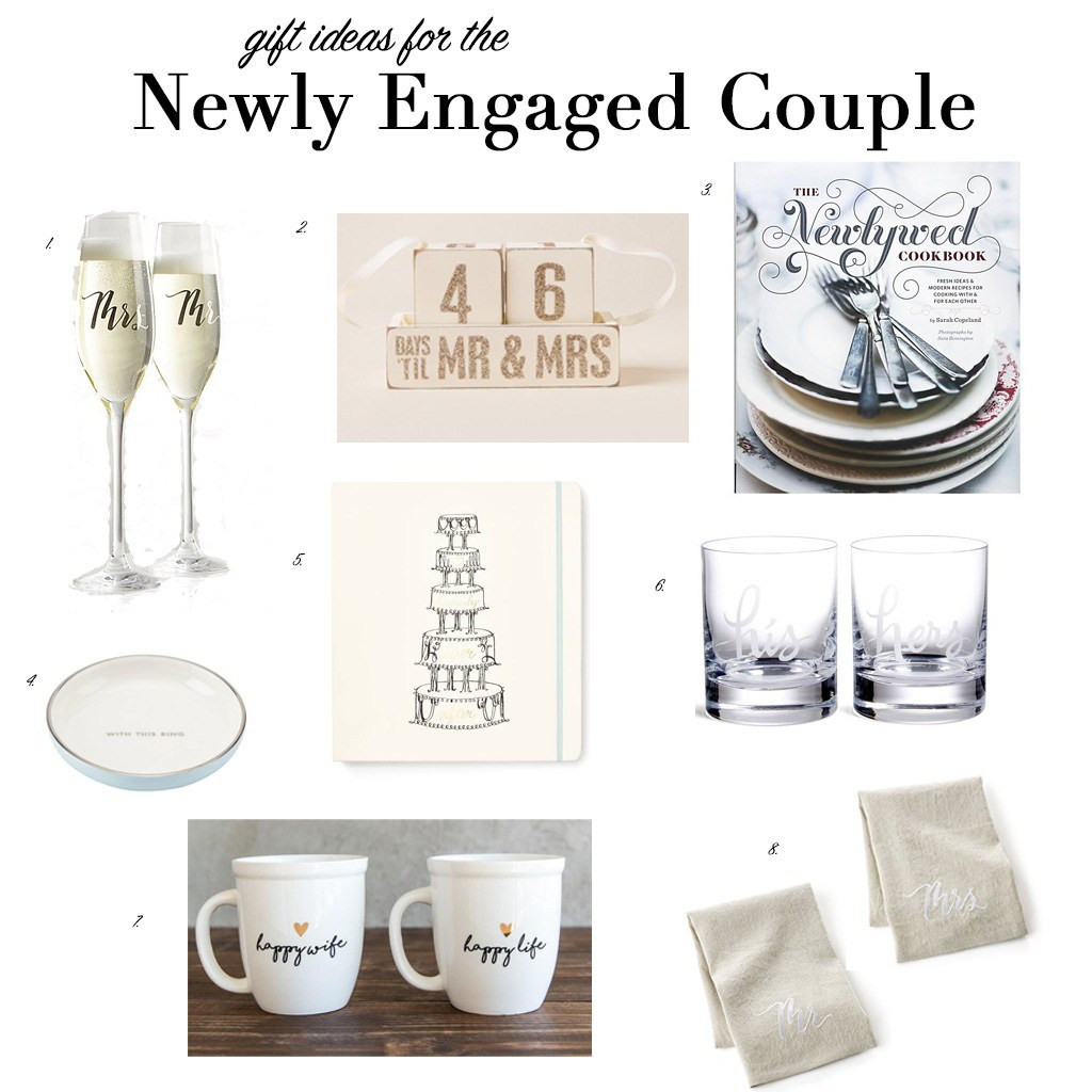 Gift Ideas For Newly Engaged Couple  Gift Ideas for the Newly Engaged Couple