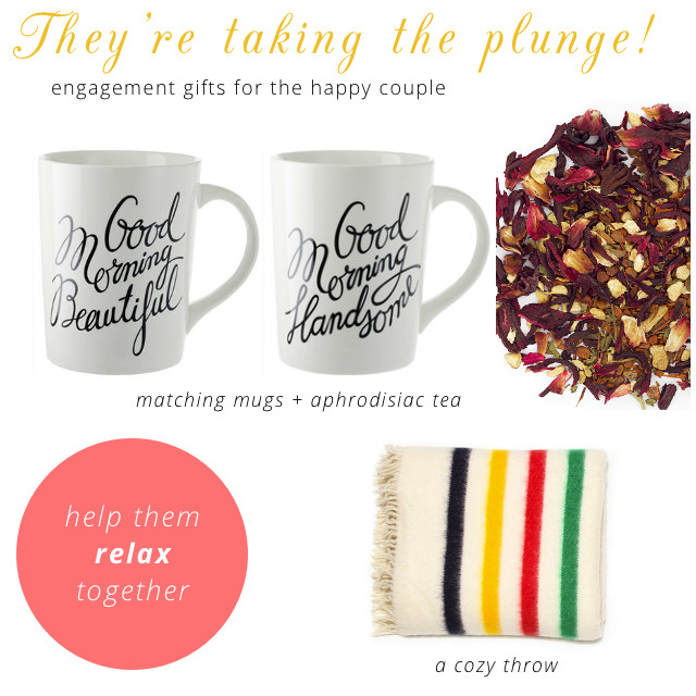 Gift Ideas For Newly Engaged Couple  5 t ideas for the newly engaged