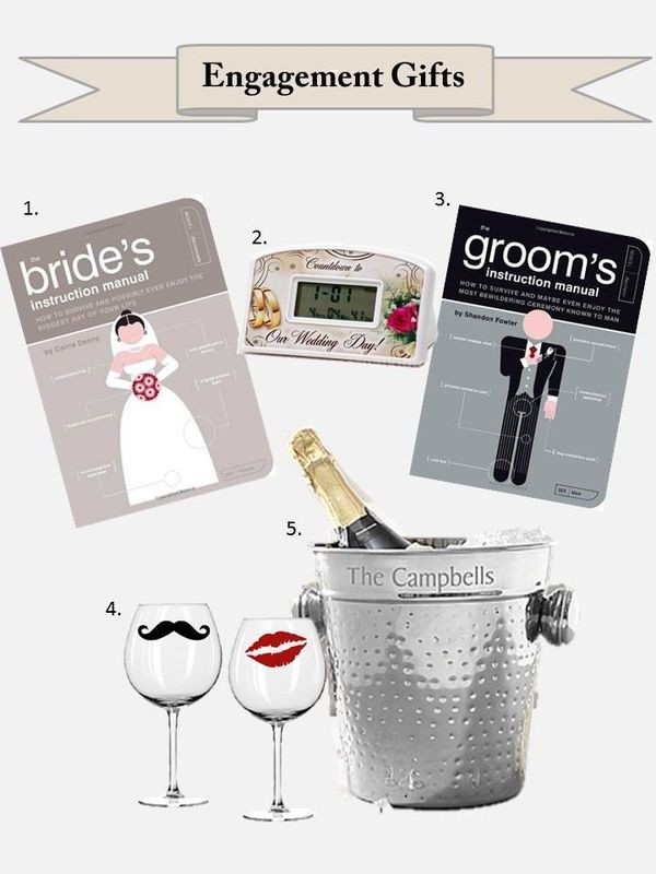 Gift Ideas For Newly Engaged Couple  A t idea for newly engaged couples