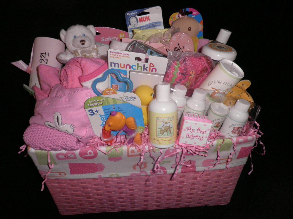 Girl Baby Shower Gift Ideas  Homemade Baby Shower Gift Baskets Ideas Baby Wall