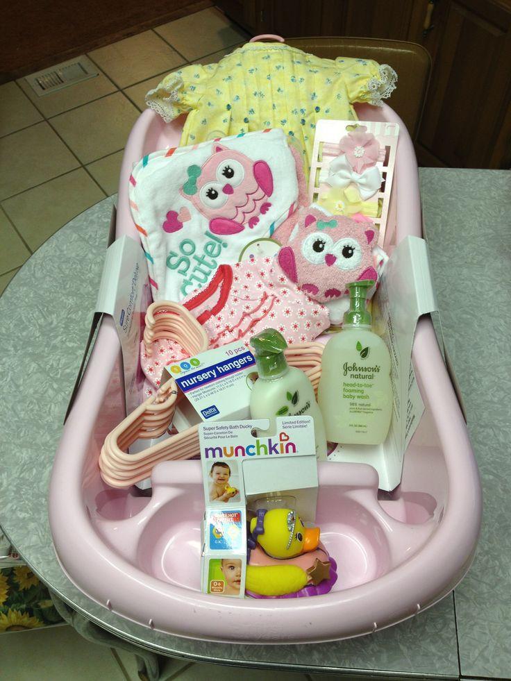 Girl Baby Shower Gift Ideas  Best 25 Baby girl t baskets ideas on Pinterest
