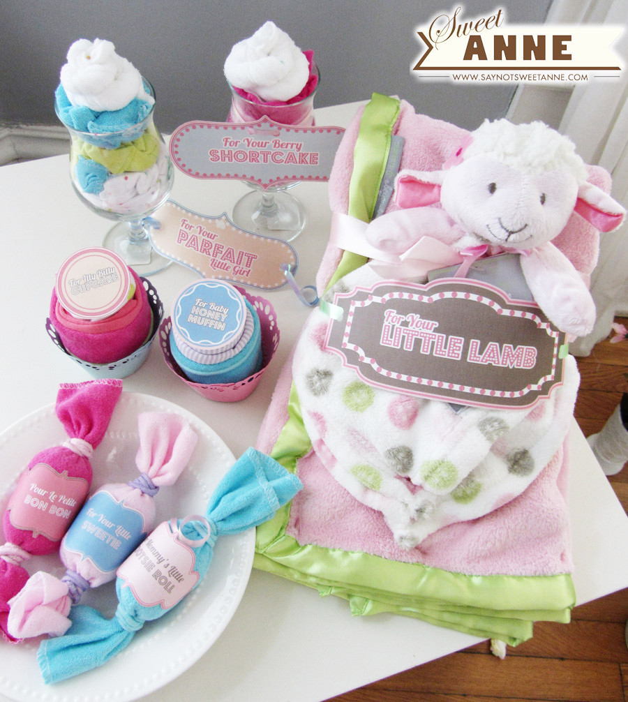 Girl Baby Shower Gift Ideas  Baby Shower Gifts [Free Printable] Sweet Anne Designs