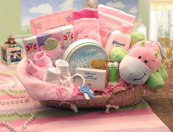 Girl Baby Shower Gift Ideas  Ideas to Make Baby Shower Gift Basket