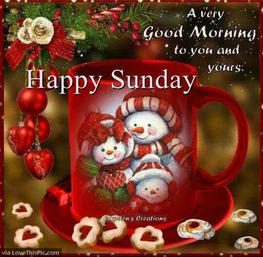 Good Morning Christmas Quotes  Christmas Good Morning Happy Sunday Quote s