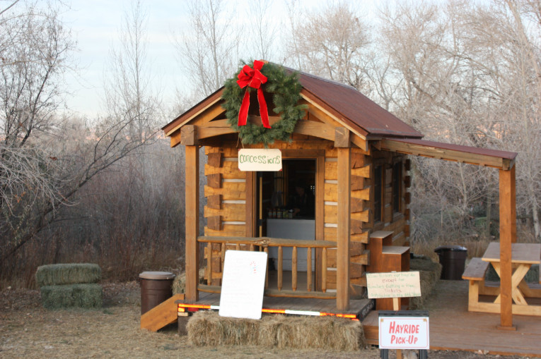 Great Bridge Christmas Parade  Covered Bridge Ranch Christmas Trees at the Covered