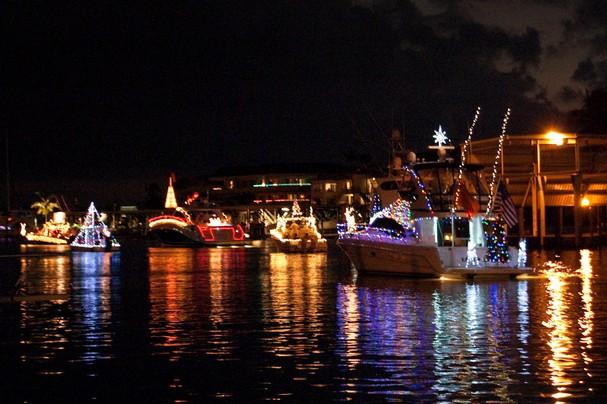 Great Bridge Christmas Parade  Annual Christmas Boat Parade in Naples Florida