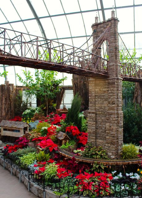 Great Bridge Christmas Parade  Krohn Conservatory Trains Trestles and Traditions · 365