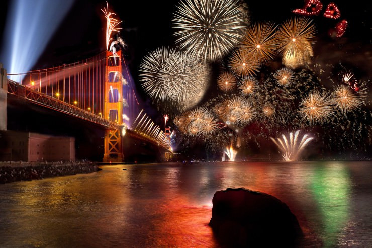 Great Bridge Christmas Parade  Where To Watch 4th of July Fireworks Shows in San