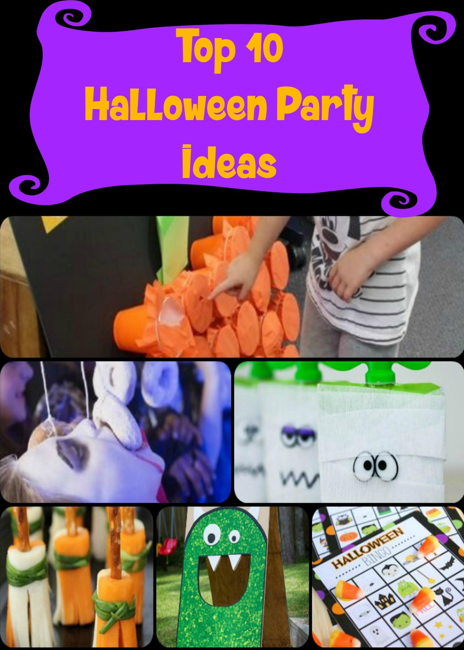 Great Halloween Party Ideas  Top 10 Kids Halloween Party ideas