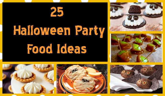 Great Halloween Party Ideas  25 Good Gross and Ghoulish Halloween Party Food Ideas