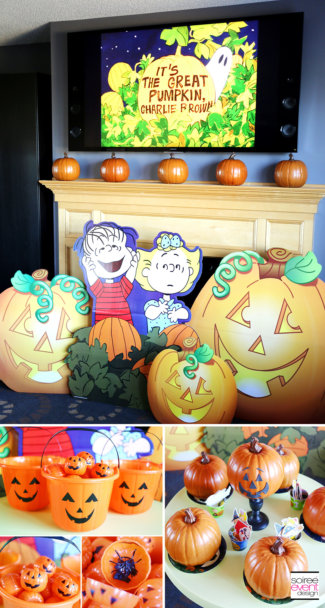 Great Halloween Party Ideas  It s The Great Pumpkin Charlie Brown Halloween Party