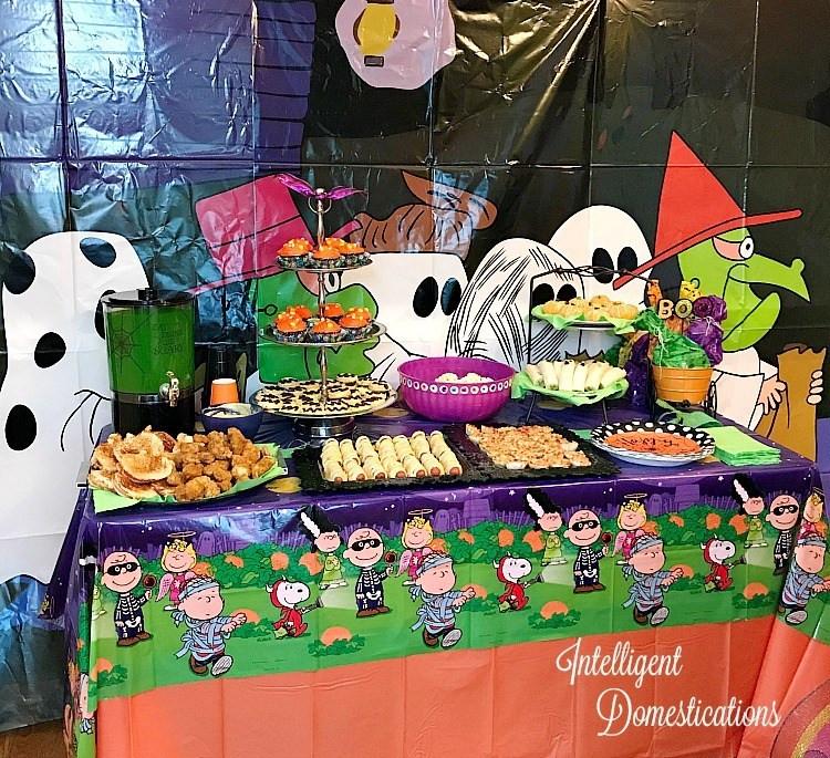 Great Halloween Party Ideas  Peanuts Great Pumpkin Halloween Party