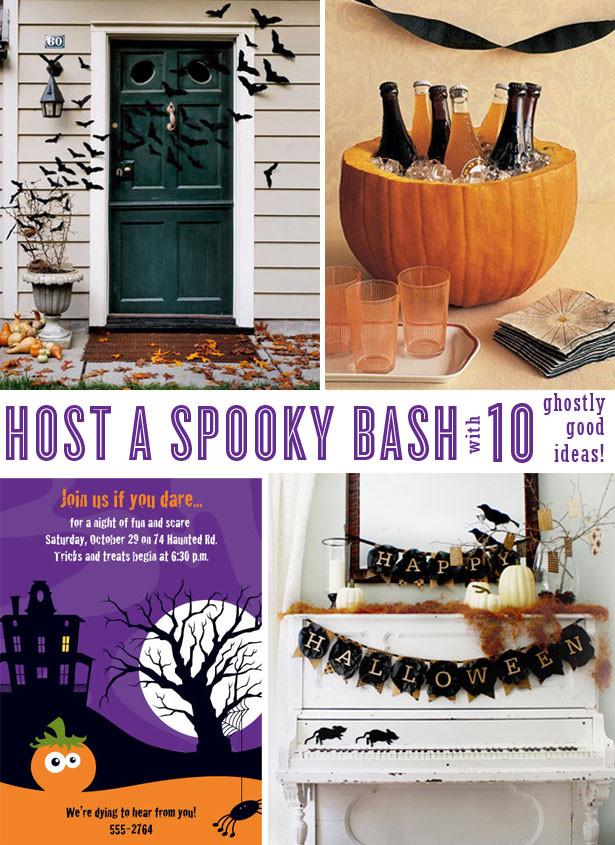 Great Halloween Party Ideas  Spooked Pumpkin Halloween Party Ideas Kim Byers