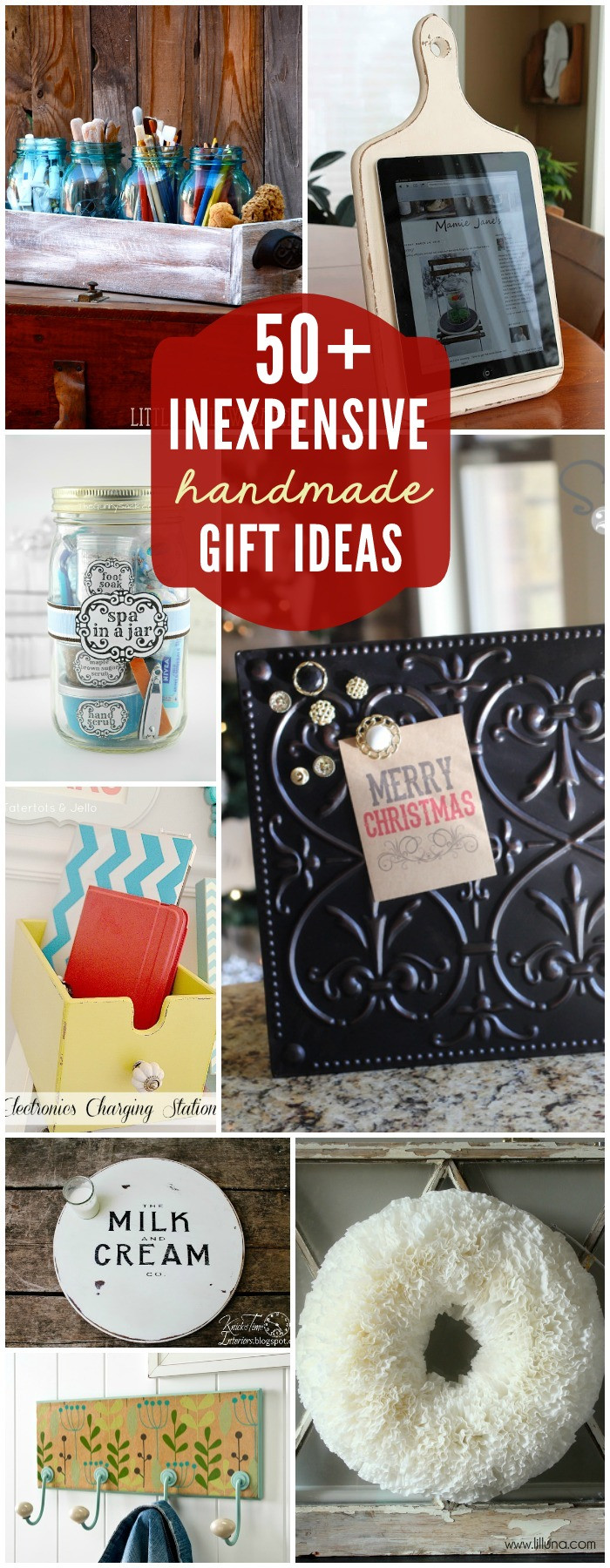 Great Holiday Gift Ideas  Easy DIY Gift Ideas