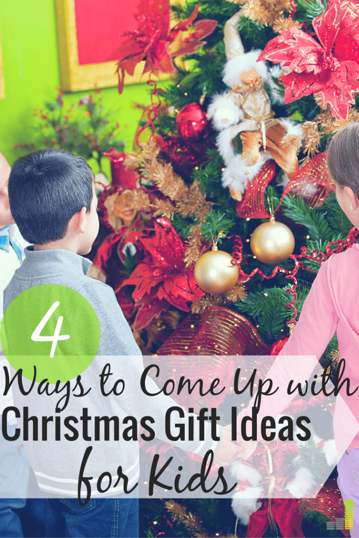 Great Holiday Gift Ideas  How I e Up With Great Christmas Gift Ideas for Kids
