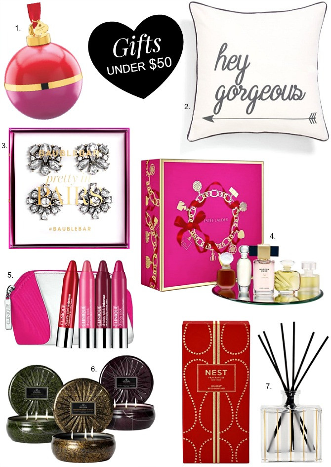 Great Holiday Gift Ideas  Christmas Guide Good Gift Ideas Under $50