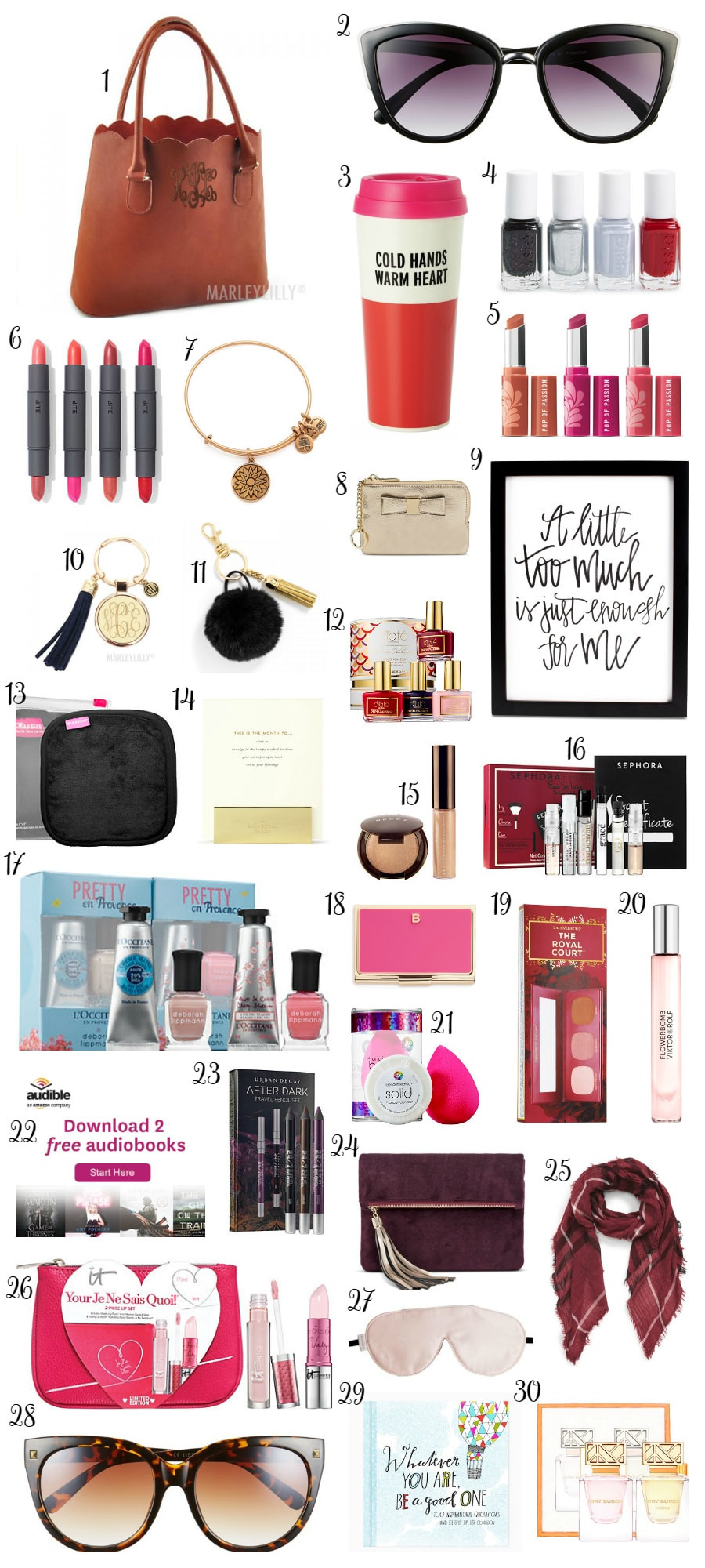 Great Holiday Gift Ideas  Christmas Gift Ideas under $30