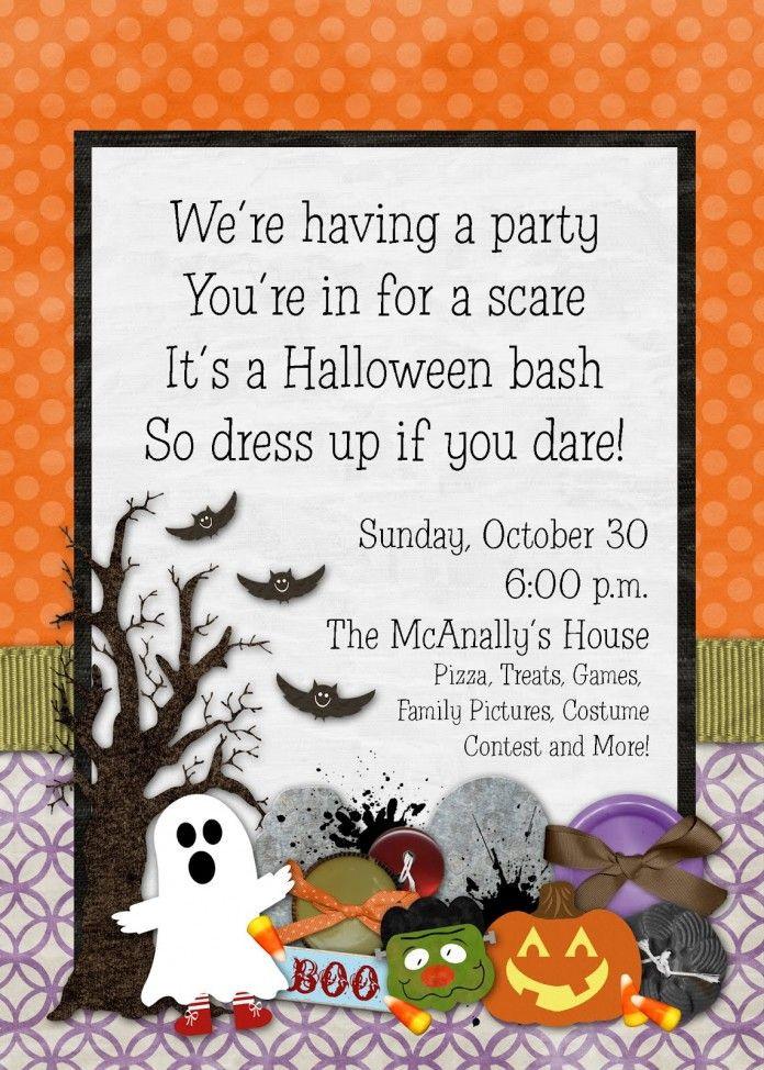Halloween Birthday Party Invitation Ideas  Best 20 Halloween birthday parties ideas on Pinterest