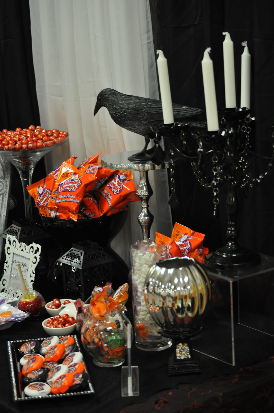 Halloween Candy Table  Ancaster Wedding Show A Halloween Wedding Candy Buffet