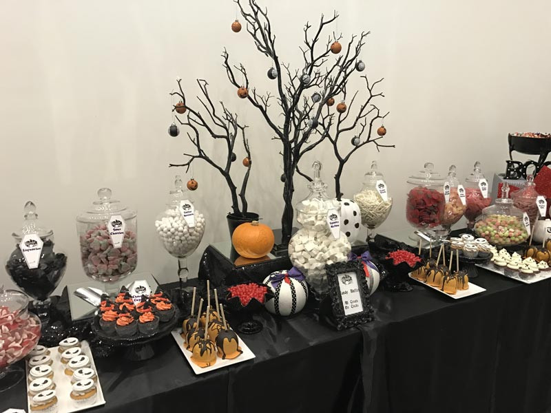 Halloween Candy Table  Halloween Sweets Candy Buffet Candy Buffets l Sweetie