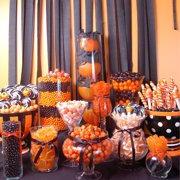 Halloween Candy Table  How to Create a Halloween Candy Buffet