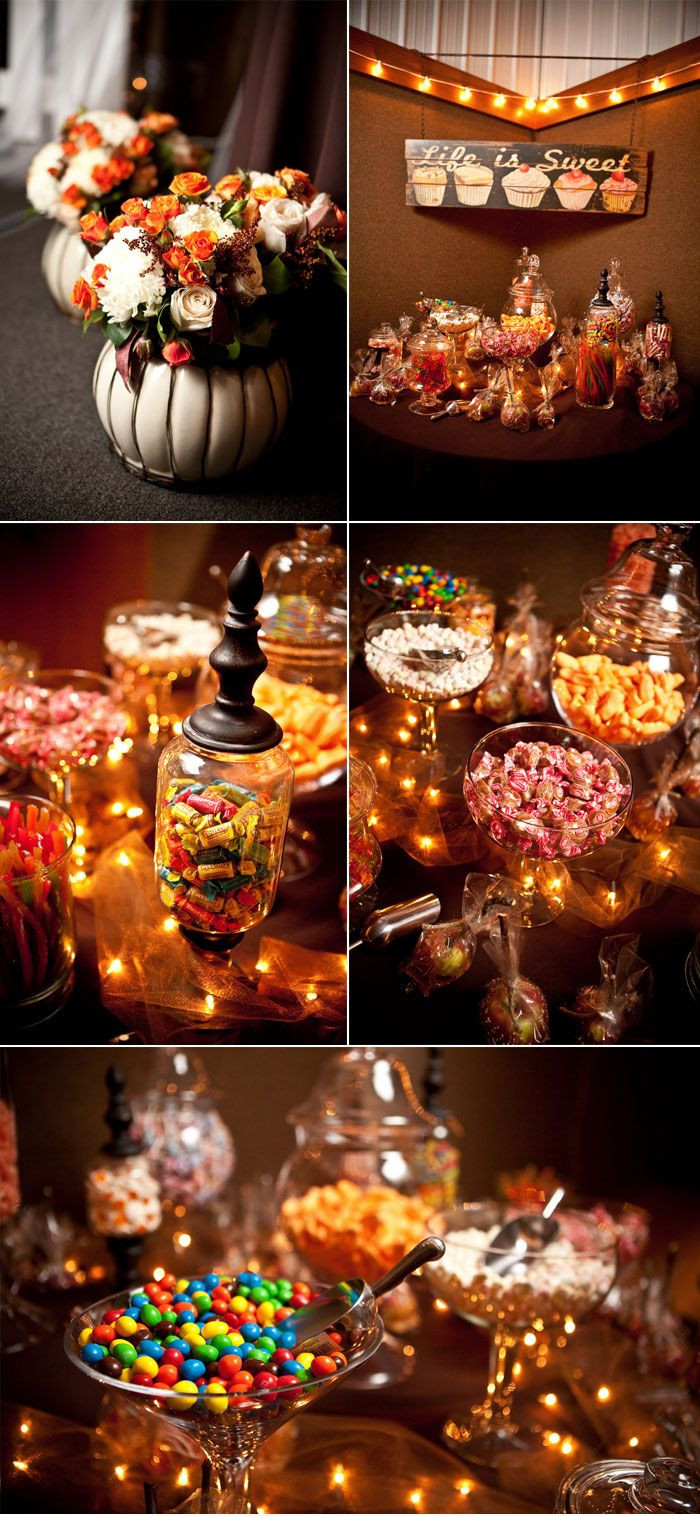 Halloween Candy Table  Best 25 Halloween candy buffet ideas on Pinterest