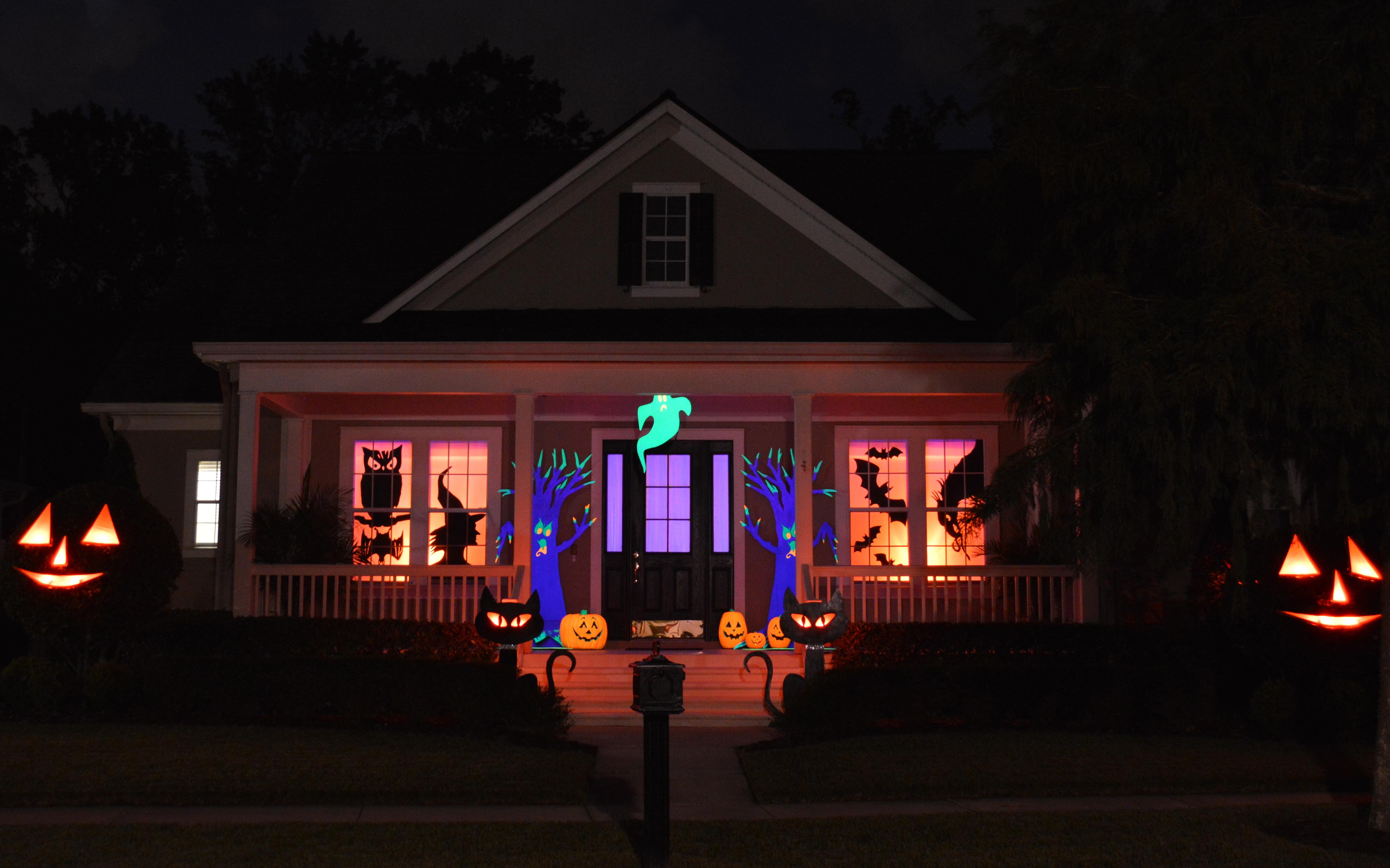 Halloween Decor Outdoor  Chloe s Inspiration Halloween Outdoor Decorations in