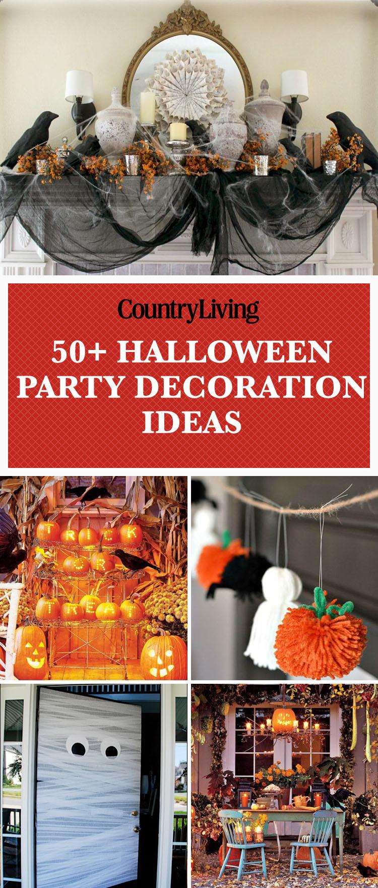 Halloween Decorating Party Ideas  56 Fun Halloween Party Decorating Ideas Spooky Halloween