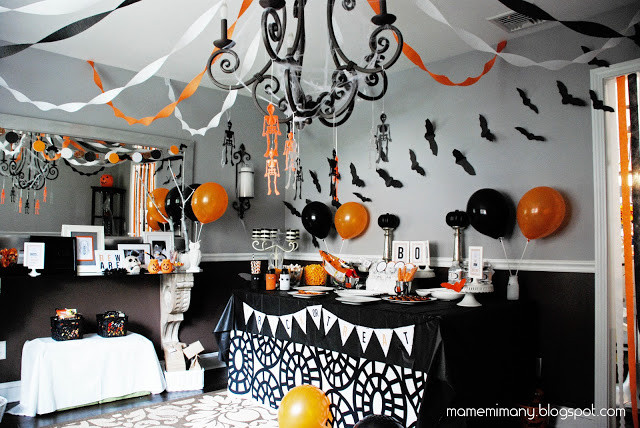 Halloween Decorating Party Ideas  16 Do It Yourself Halloween Home Decorating Ideas Oh My