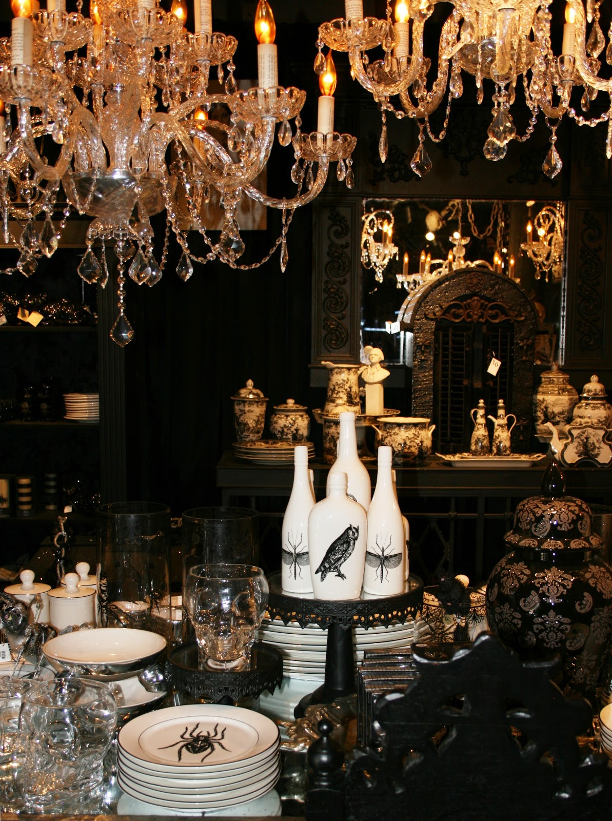 Halloween Decorating Party Ideas  ciao newport beach halloween display at Roger s Gardens