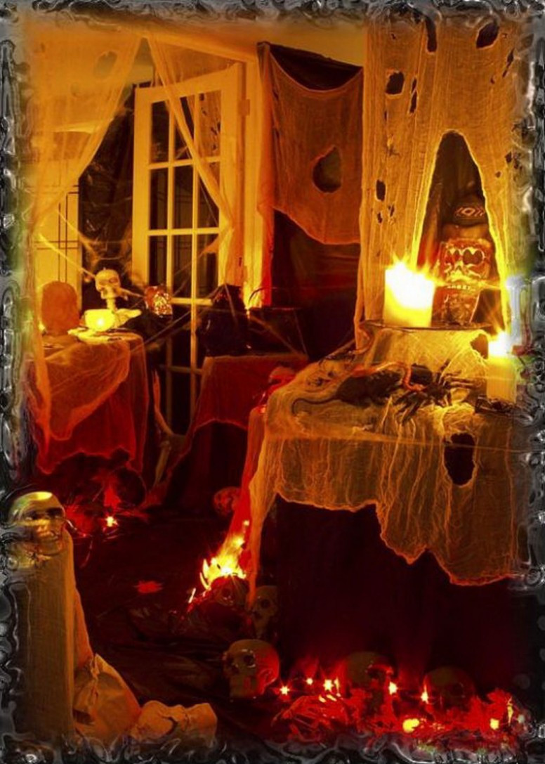 Halloween Decorating Party Ideas  SPOOKY OUTDOOR DECORATIONS FOR THE HALLOWEEN NIGHT