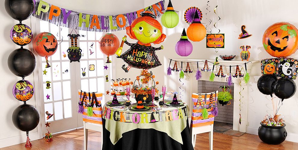 Halloween Decorating Party Ideas  Witch s Crew Party Supplies