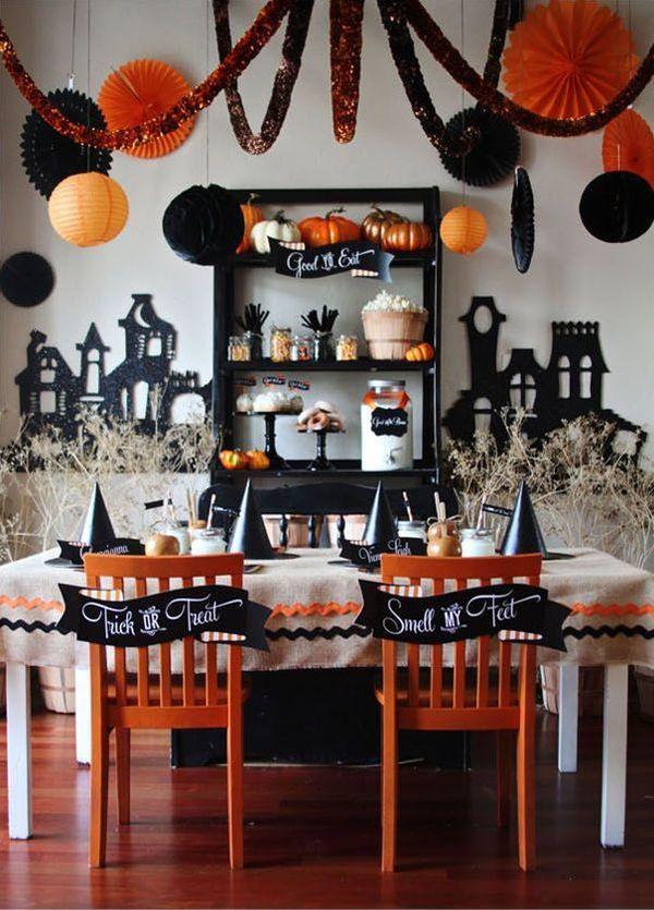 Halloween Decorating Party Ideas  Party Themed Décor Ideas For Halloween