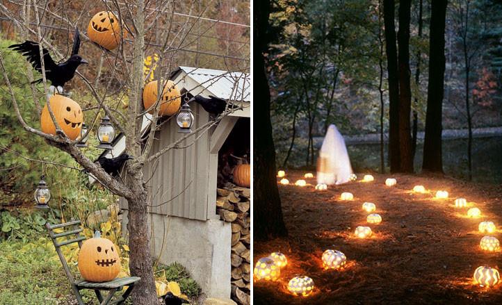 Halloween Decoration Outdoor  90 Cool Outdoor Halloween Decorating Ideas