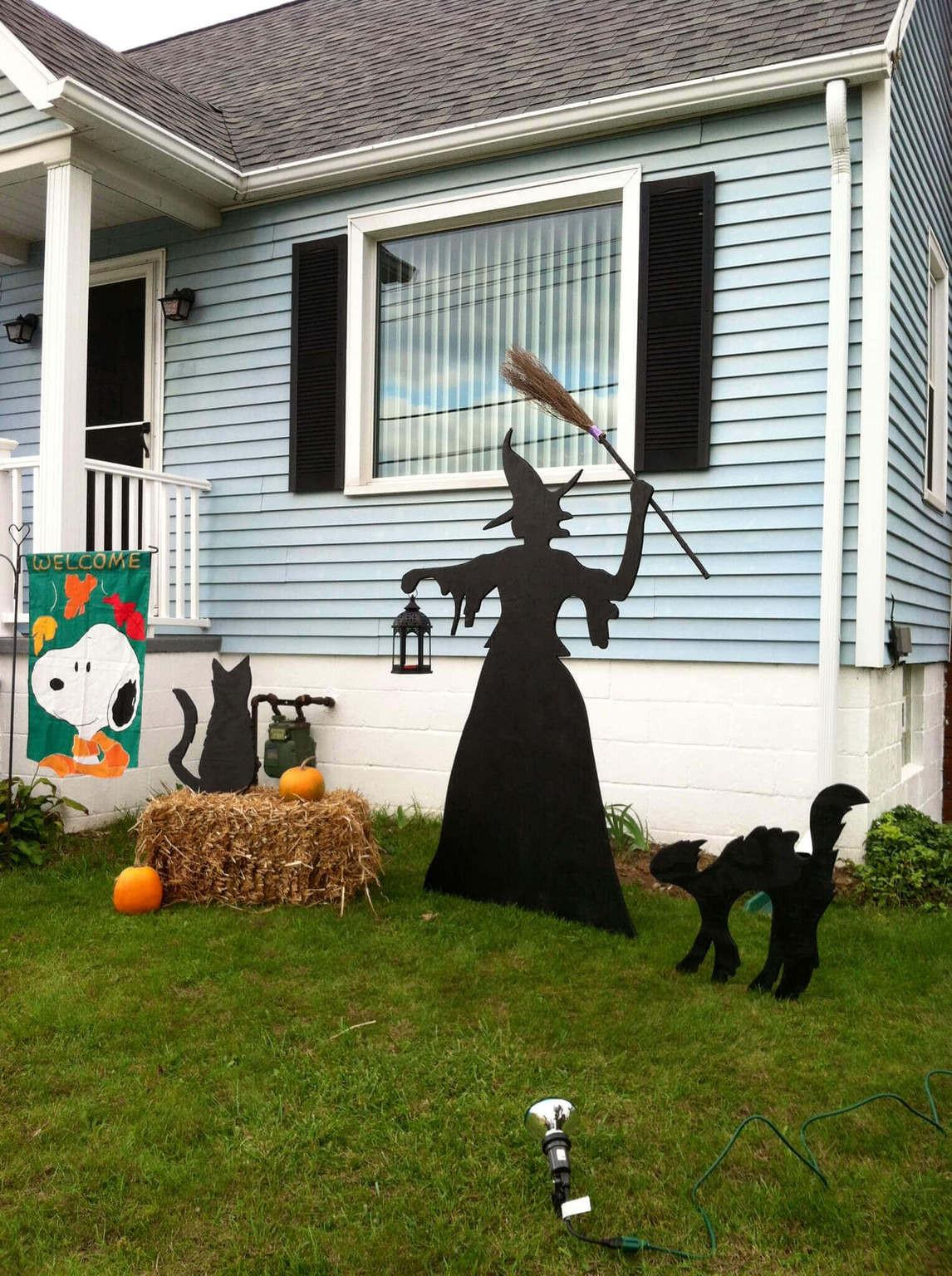 Halloween Decoration Outdoor  Exquisite Outdoor Halloween Decoration Ideas Festival