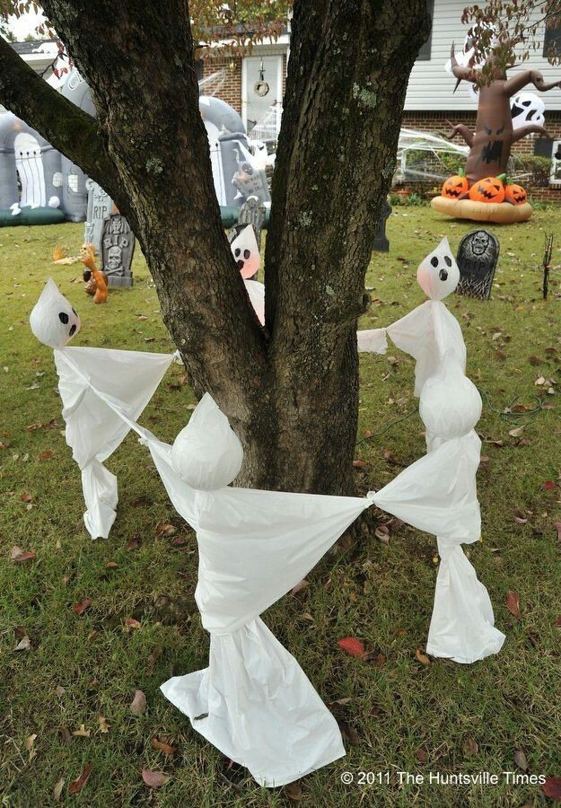 Halloween Decoration Outdoor  30 Awesome DIY Halloween Outdoor Decorations Ideas