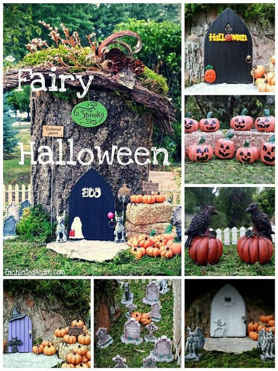 Halloween Fairy Garden Accessories  Halloween Fairy Garden Accessories by TheEnchantedAcorn