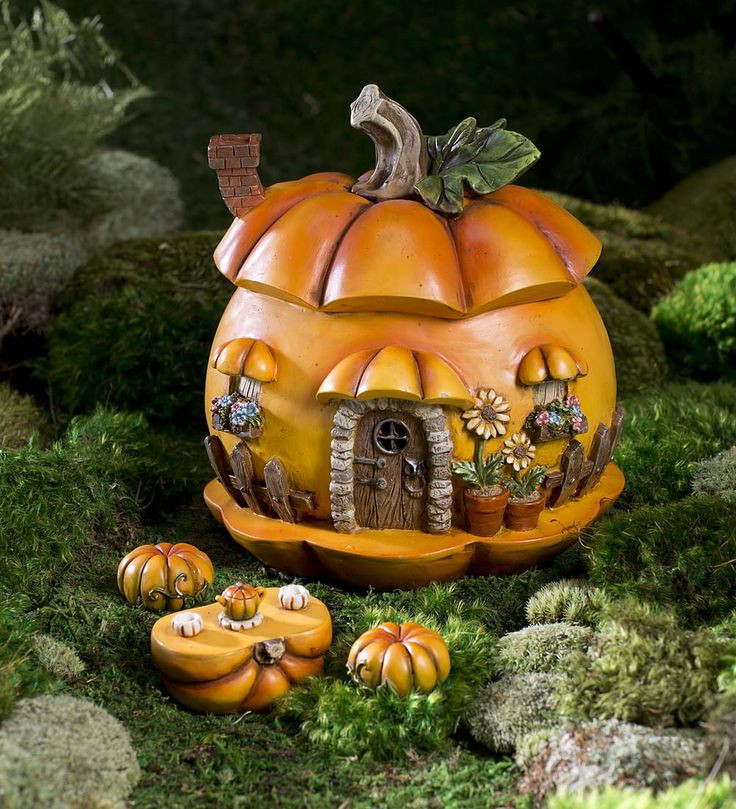 Halloween Fairy Garden Accessories  546 best Miniature Fairy Gardening Fairy Cottages Fairy