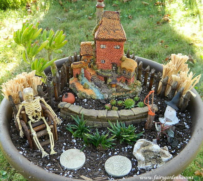 Halloween Fairy Garden Accessories  halloween fairy gardens