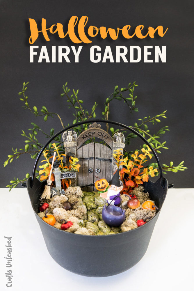 Halloween Fairy Garden Accessories  Halloween Project Idea DIY Fairy Garden Consumer Crafts