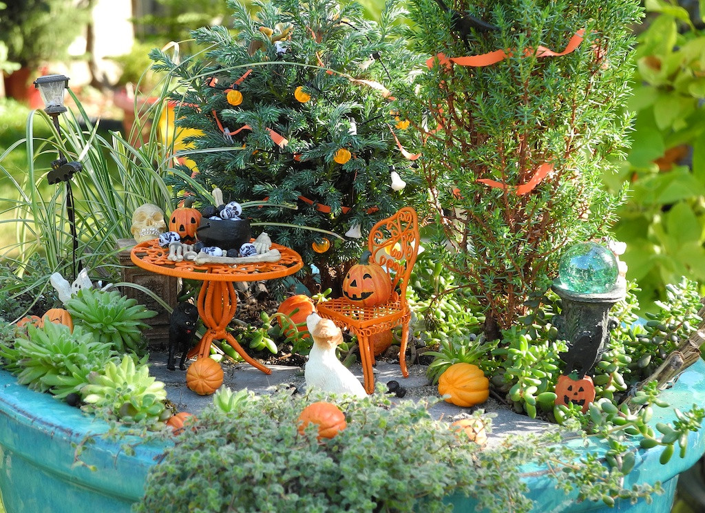 Halloween Fairy Garden Accessories  October 2013