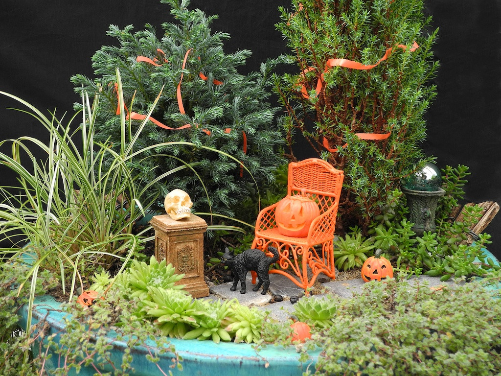 Halloween Fairy Garden Accessories  Halloween Miniature Garden