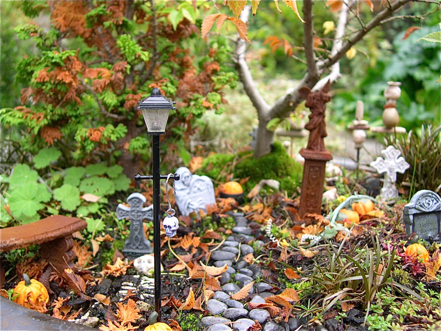 Halloween Fairy Garden Accessories  It's a Miniature Halloween Garden Contest – The