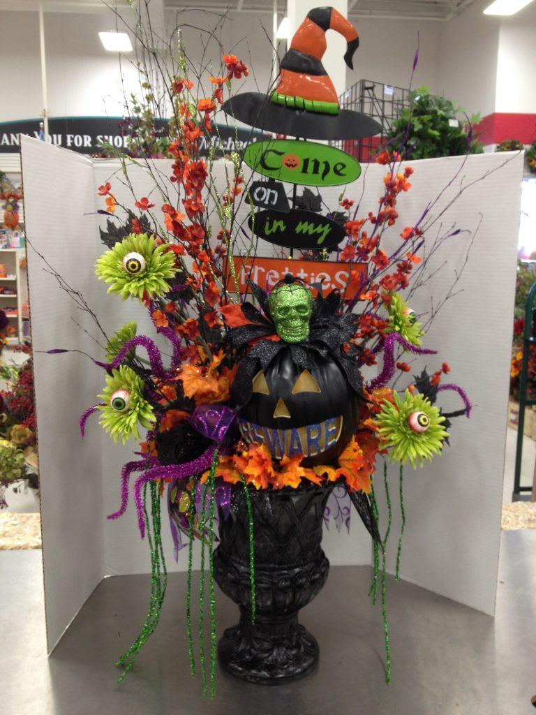Halloween Flower Arrangements  Halloween flowers arrangement ideas Flowers by Pat