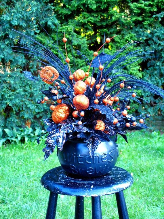 Halloween Flower Arrangements  il 570xN 8ich