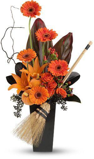 Halloween Flower Arrangements  Halloween Floral Arrangement