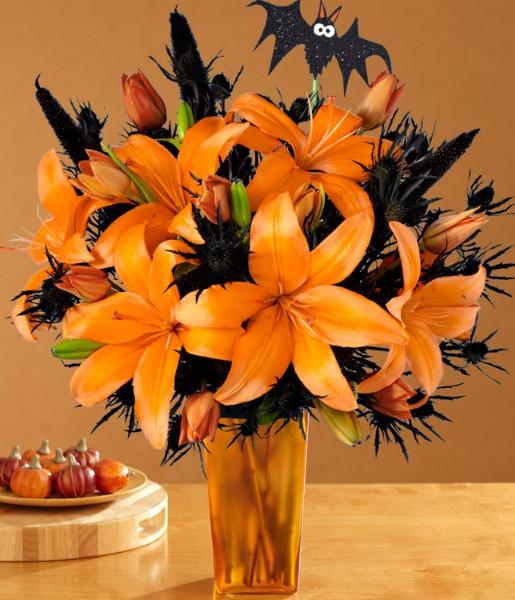 Halloween Flower Arrangements  Trick or Treat Adult Style 3 DIY Centerpieces to Make